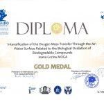Medalia de aur EUROINVENT 2012