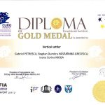 Medalia de aur EUROINVENT 2017
