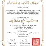 Diploma de excelență WIIPA 2016
