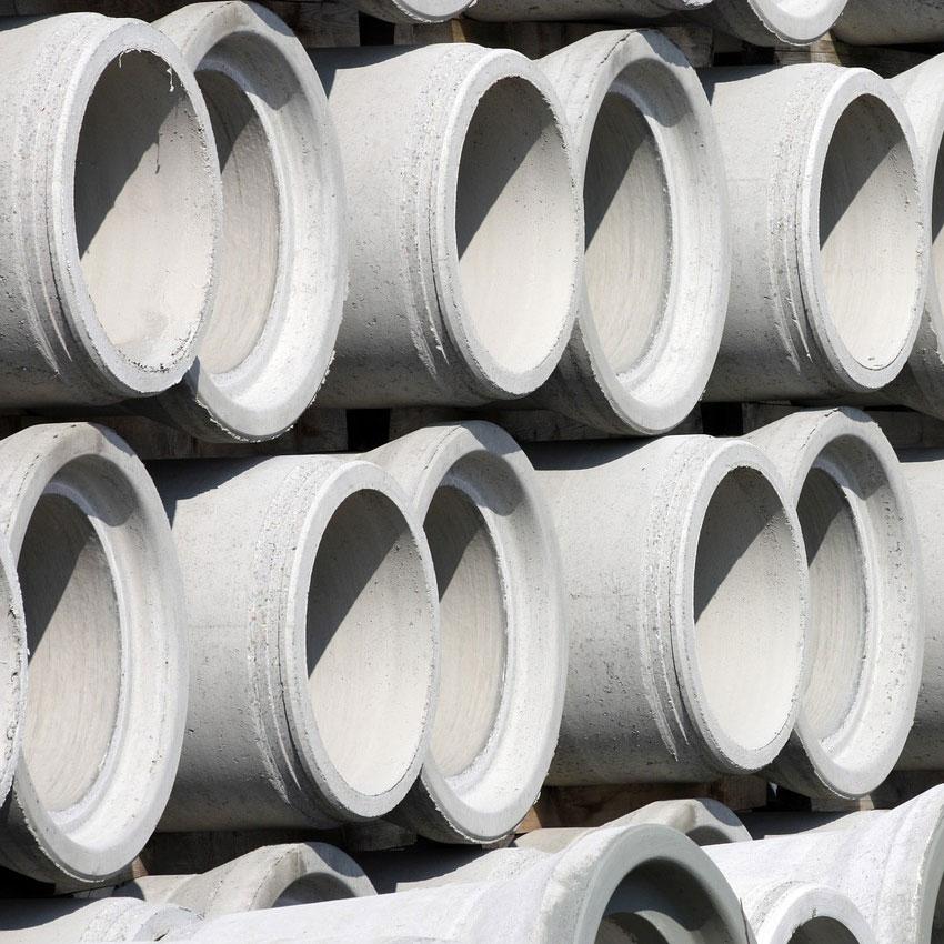 Cofraje pentru turnarea tuburilor de beton