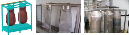 Sistem pentru deshidratarea nămolului